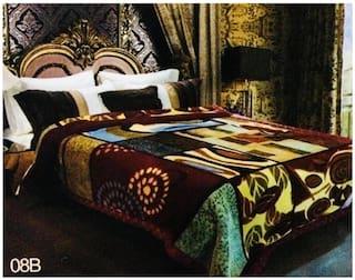 Nanki's Premium Single Bed Reversible Mink Blanket