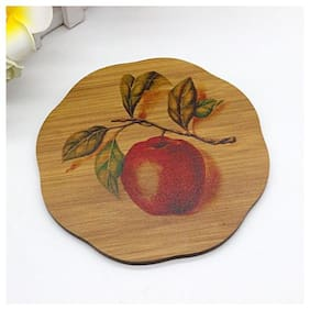 Natural Bamboo Coasters or Pan Pot Holder Heat Pad (17cm* 17cm) -2pcs- Square New- multi design Sold By Evershine Gifts And Household