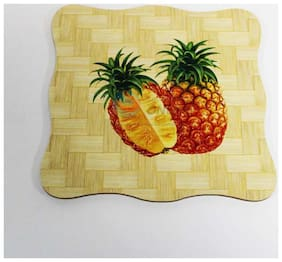Natural Bamboo Coasters or Pan Pot Holder Heat Pad (19.5cm* 19.5cm) -1pc- Square- multi design Sold By Evershine Gifts And Household