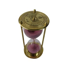 Nautical Mart Brass Calendar Sand Timer