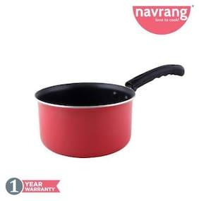 Navrang Sauce Pan 18 cm diameter (Aluminium;Non-stick)