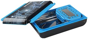 Nayasa Notebook Insulated Plastic Lunch Box with Stainless Steel Inner Box