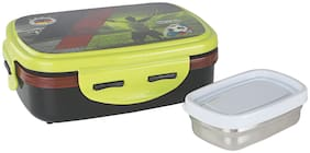 Nayasa Nutri Kids Deluxe Insulated Lunch Box with S/S Inner & S/S Container