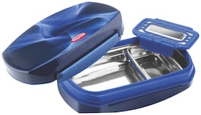Nayasa Razor Insulated Plastic Lunch Box with Stainless Steel Inner Box