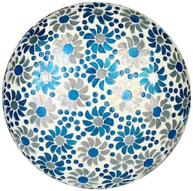 New Design Glass Round Ceiling Lamp Hand Decorative with Coorful Chips & Beads-83