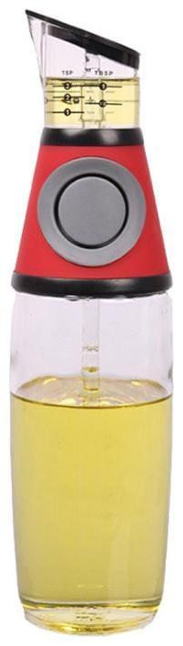 New push-type quantitative scale oil bottle sealed leak-proof oil pot BY