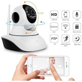 NEWBIGFASHION WiFi IP Camera Dual Antenna