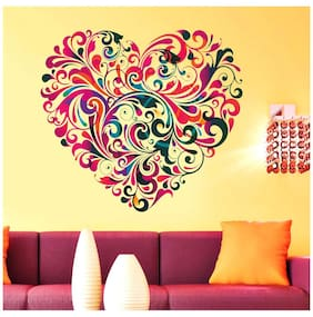 New Way Decals Printed Wall sticker ( Set of 1 )