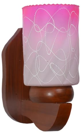 Nogaiya Glass Modern Pink Wall lamps ( Set of 4 )