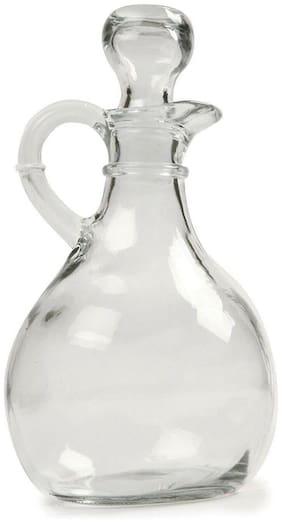 Norpro Oil Vinegar Glass Cruet 11 Oz Salad Dressing Vinegarette Syrup Dispenser