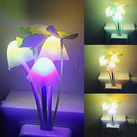 NORY Kids Plastic Magic Night Lamp Beautiful Illumination Automatic on/off Smart Sensor (Multi-coloured)