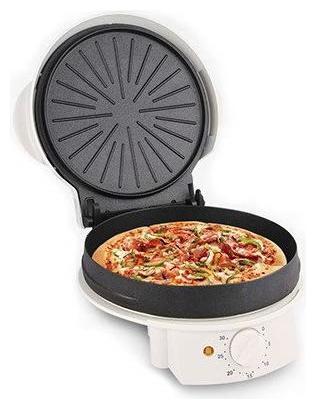 Nova Household Appliances NT-235PZ9 Plastic Pizza Maker (White)