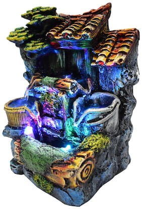 NVR Hut Water fountain Multicolor -Set of 1