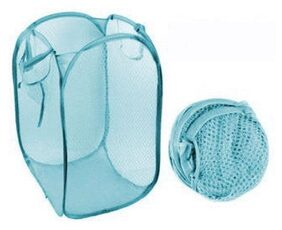 Sunrise International Nylon Assorted Laundry Basket ( 1 Pc )