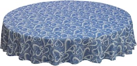 Oasis Cotton Jacquard Round Table Cloth - 6 Seater(Pack of 1)