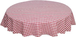 Oasis Cotton YD Round Table Cloth - 6 Seater(Pack of 1)