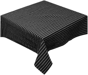 Oasis Home Cotton YD Table Cloth- Stripe -8 Seater