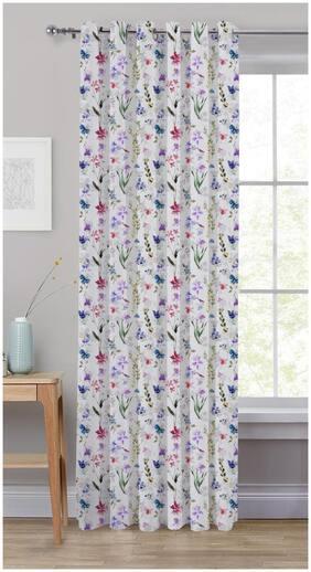 Oasis Hometex Premium Quality 100 % Cotton Window 5 ft Eyelet Curtain