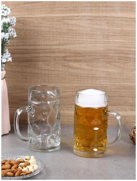 Oberglas Isar Beer Mug 550 ML Set of 2pcs