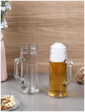 Oberglas Premium Plain Beer Mug 330 ML Set of 2pcs