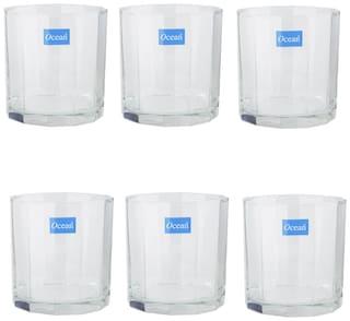 Ocean Victoria Glass Set of 6,325ml,Transparent