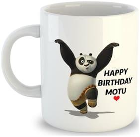 OddClick Happy Birthdy Motu For Motu Friend , Motu Brother,Motu Bff , girlfriend ,Mote Log On Birthday Printed Ceramic Mug