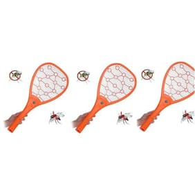 Oklight Mosquito Racket/Rechargeable Mosquito Repellent (Pack of 3)