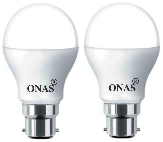 Onas 7 W Standard B22 LED Bulb  Pack of 2