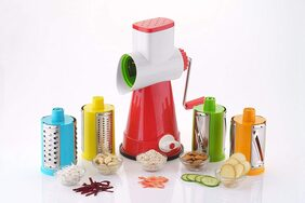 ONE8D 4 IN 1 ULTRA SPEED ROTARY GRATERS & SLICER