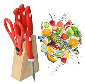 ONE8D Knife Set With Wooden Stand