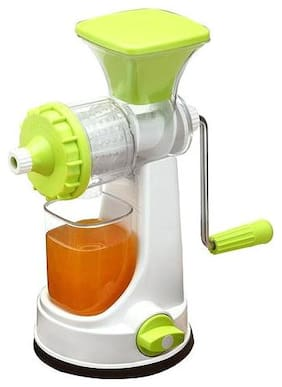 ONE8D Mixer Grinder with Steel Handle Polypropylene Hand Juicer-Green