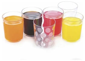 ONE8D PLASTIC MAIGE GLASS (SET OF 6) BY FORTUNE TRADELINK