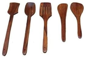 Onlineshoppee Wooden Spoon Set