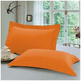 Orange Pillow Cover Set (2 pc)
