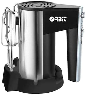 Orbit CX-6629 ELECTRIC MIXER300 300 w Hand blender ( Black & Silver )