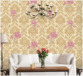 Oren Empower HY9177 Floral & Botanical PVC Vinyl Waterproof Wallpaper