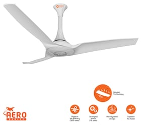 Orient Aerostorm 1320 mm Ceiling Fan - White