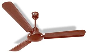 Orient Energy Star 3 Blades (1200 MM) 48 inches Ceiling Fan ( Brown) 5 Star Rating