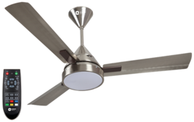 Orient Electric Spectra 1200 mm Premium Ceiling Fan ( Brushed steel , Pack of 1 )