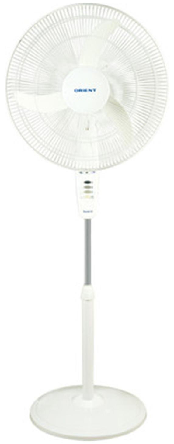 Orient Stand 38 3 Blades (400 mm) Pedestal Fan (White)