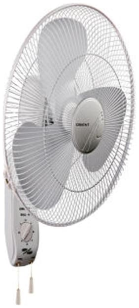 Orient Electric wall 45 400 mm Decorative Wall Fan ( White , Pack of 1 )