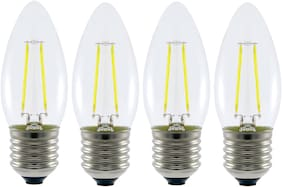 Origin LED Filament Bulb-3W-Candle Shape-E27 Base-  Cool Daylight (6500K)-