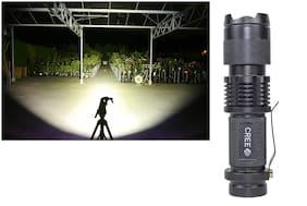 Original 10W Led Rechargeable Long Range Waterproof & Ultra Bright Flashlight long range Torch