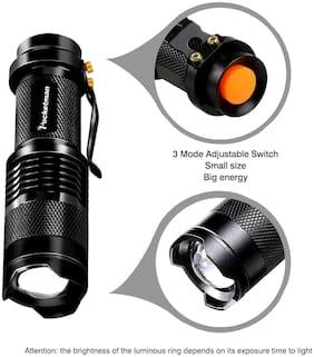 Original Rechargeable 7W Led Long Range Waterproof & Ultra Bright Flashlight Torch