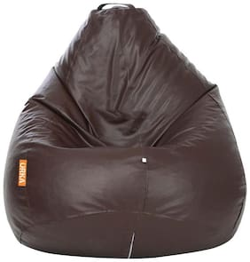 Orka Classic Kids Filled Bean Bag - Brown