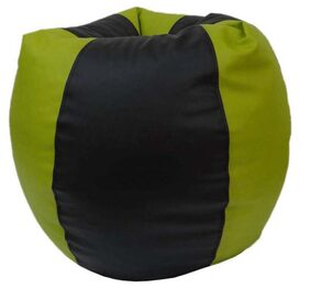 Orka Classic Green And Black Bean Bag Cover Only