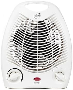 Orpat OEH-1250 Fan Room Heater (White)