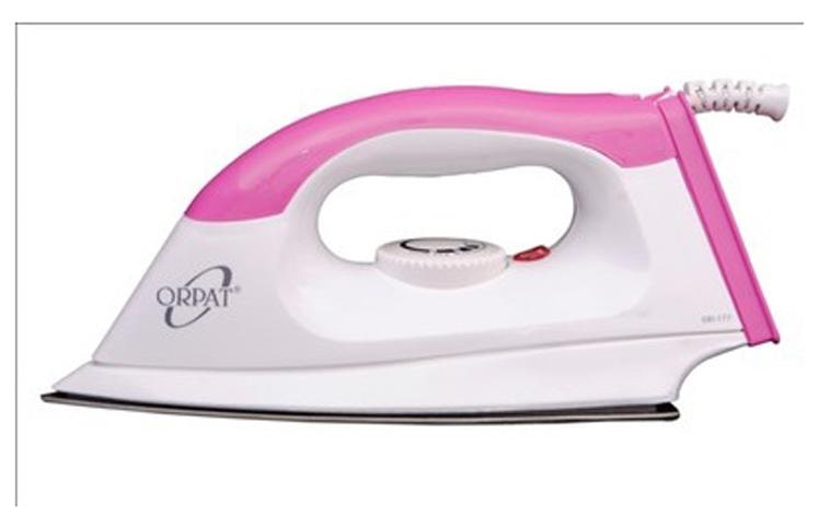 Orpat OEI-177 1000 W Dry Iron (Pink)