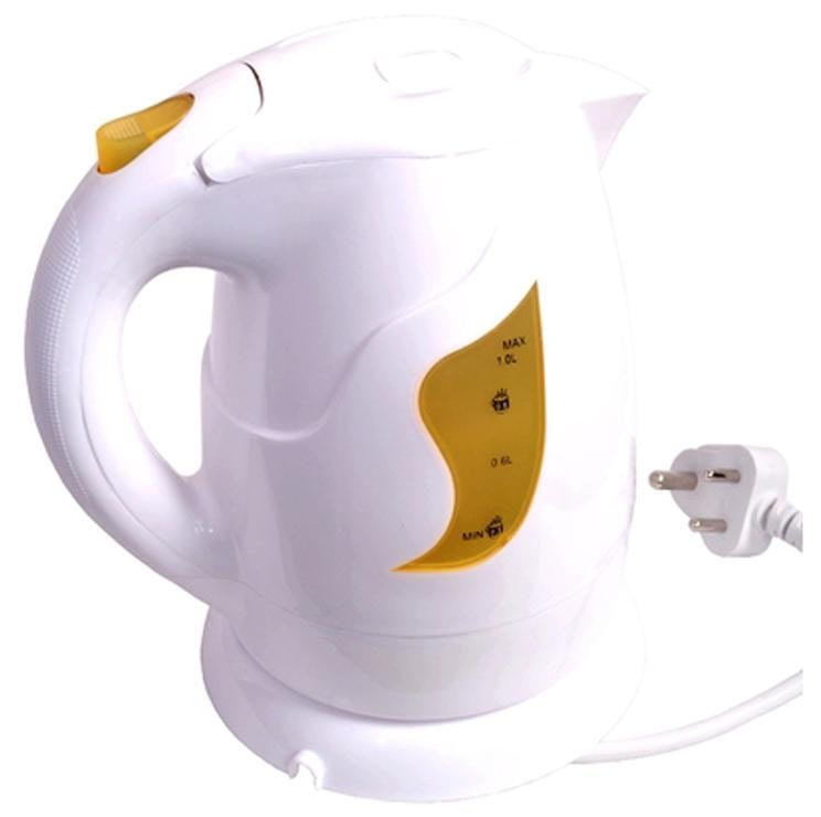 Orpat OEK-8127 1 L Electric Kettle (White & Yellow)