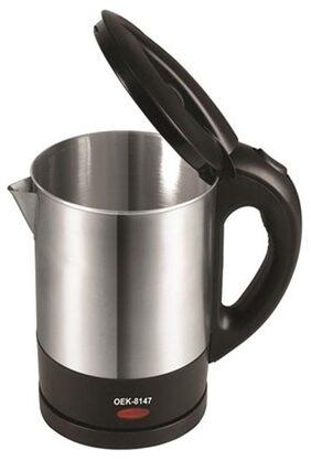 Orpat OEK-8147 1 L Electric Kettle (Silver & Black)